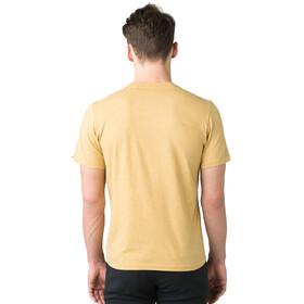 Prana Beer Belly Journeyman T-shirt Homme, marigold heather